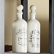 set of 2 continental bottles