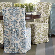 damask dining chair cover