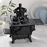 Decorative Cast Iron Mini Cookstove