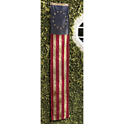 heritage pull down flag