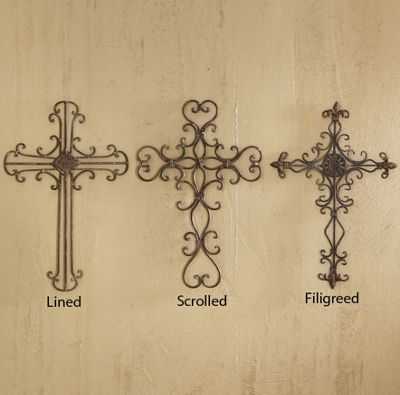 Metal Wall Crosses