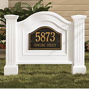 Nantucket Address Sign