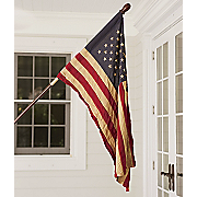 50 Star American Flag and Pole