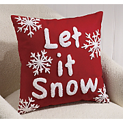 Pillow Let It Snow