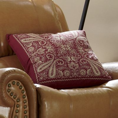 bandana toss pillow
