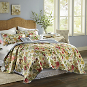 westport oversized reversible cotton quilt sham and pillows