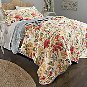 Westport Oversized Reversible Cotton Quilt And Sham