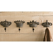 Hooks Crown Set Of 4