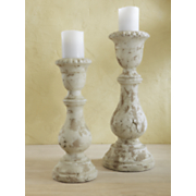 Candleholders Rustic Set Of 2