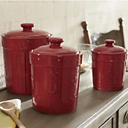 Canisters Sorrento Set Of 3