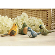 Songbird Figurines Set Of 4
