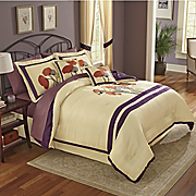 serafina comforter set valance panel pair pillow