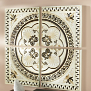 4 pc Medallion Wall Art