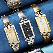 Womens Rectangle Semi bangle Watch By Pulsar
