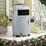 indoor outdoor evaporative air cooler by honeywell