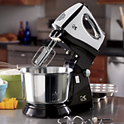 Stand Mixer With 3 Qt Stainless Steel Bowl