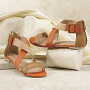 Freshica Colorblock Sandal By Montgomery Ward