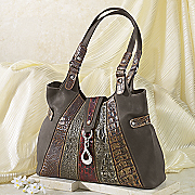 Isabel Tri tone Bag By Marc Chantal