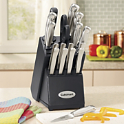 18 pc Forged Cutlery Set By Cuisinart