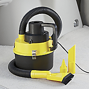 Compact Wet dry Car Vac With Inflator