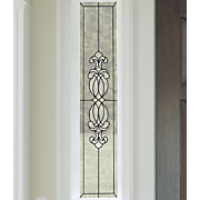vineyard rose faux leaded glass caming lines