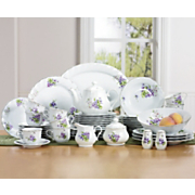 49 pc valeska porcelain dinnerware set