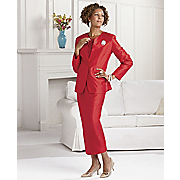 Bright Taffeta Suit By Tally Taylor