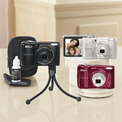 161 Mp Coolpix Camera Bundle By Nikon