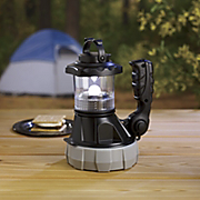 weatherproof rechargeable led spotlight with camping lantern by honeywell