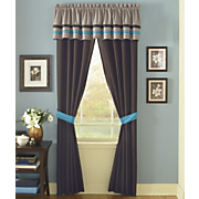 Blue Dahlia Window Treatments