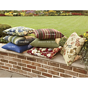 Polyester Outdoor Cushions for Wood or Aluminum Furniture