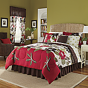 Complete Bed Set and Window Treatments Carrie