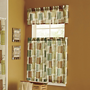 Tranquility Window Valance And Tier Pair