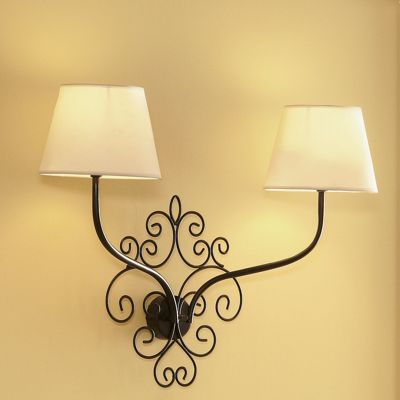 Scroll Wall Mount Lamp