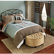 Andrea Bed Set Valance And Panel Pair