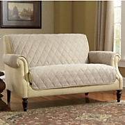 Diamond quilted Skid resistant Faux Suede Furniture Protectors