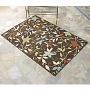 leaf indoor outdoor rug