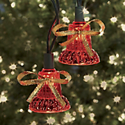 40 Musical Lighted Bell Set