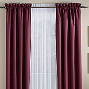color connection thermal rod pocket valance by montgomery ward