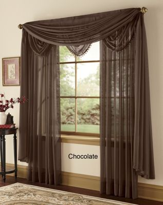 Emily Sheer Voile Window Treatments