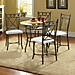5 Pc Leaf Dining Set