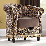 Chair Leopard Tub