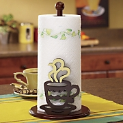 Coffee Paper Towel Holder