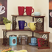 Coffee Corner Shelf