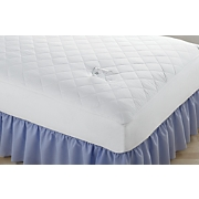 Mattress Pad with Microfiber Top, Waterproof