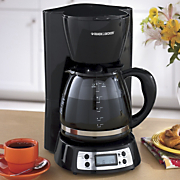 Black &amp; Decker<sup class='mark'> &reg;</sup> Programmable Coffee Maker