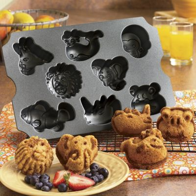 Nordic Ware Zoo Animal Muffin Pan