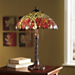 Leaves Stained Glass Lamp