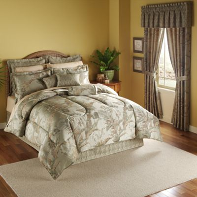Palmas Woven Jacquard Bedding and Window Treatments