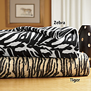 Exotic Printed Fleece Blankets